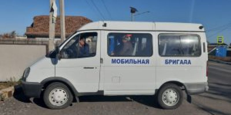 Мобильная бригада в Поляковском сельском поселении