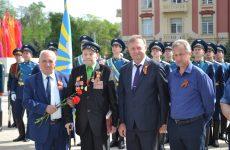 Вручение памятного знака «75 лет обороны Севастополя»